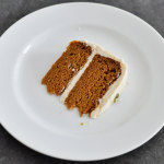 Pumpkin Spice Cake with Vanilla Buttercream